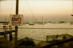 Abbott's in Noank,CT...yummy Lobster rolls and awesome view!