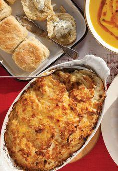 Potato and Rutabaga Gratin   recipe from Saveur