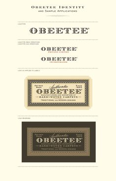 obeetee-identity   #business #businesscards #promos #identity #packaging #branding #brand #logo #artdirection #font #typography