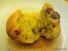 Live Free, Gluten Free: Orange Cranberry Muffins
