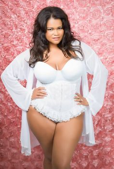 Plus size fashion #lingerie