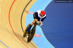 Great Britain's Mark Lee Colburn on the track - London 2012 Paralympic Games