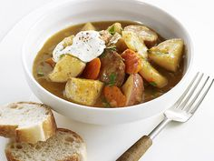 Sausage-and-Vegetable Stew Recipe : Food Network Kitchens : Food Network - FoodNetwork.com