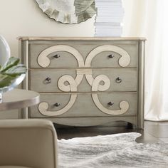 FOR my new ROOM (Hooker Furniture Melange Classique Scroll Chest)