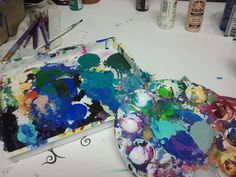 Life should be a mess of colors, somehow, some way; it all ends up beautiful.