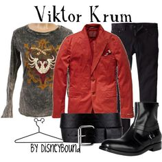Viktor Krum, created by lalakay.polyvore.com