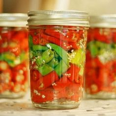 CANNING HOT PEPPERS❤