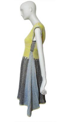 dress, looks like a good way to make a too small sweater into a dress.