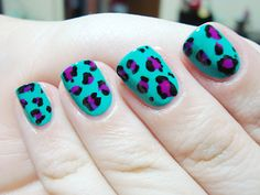 Neon leopard Polished Love ♥