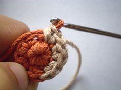color chang, tutorials, chang colour, color tutori, crochet change colors, de color, cambio de, colour tutori, chang color
