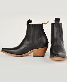 Black Freeway Boot by PSKaufman