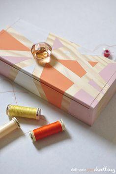 Geometric Thread Box, Delineate Your Dwelling
