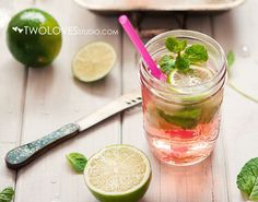 Happy hour: Innocent Bystander Moscato Mojito recipe from Two Loves Studio - dropdeadgorgeousdaily.com