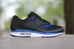 "Nike Air Max Lunar1 Deluxe ""Black/Gym Blue-White"""
