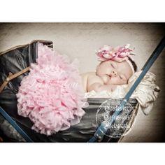 Baby Pink Newborn Baby Pettiskirt
