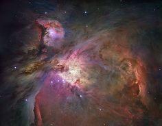 Orion Nebula: The Hubble View ---  Image Credit: NASA, ESA, M. Robberto (STScI/ESA) et al.