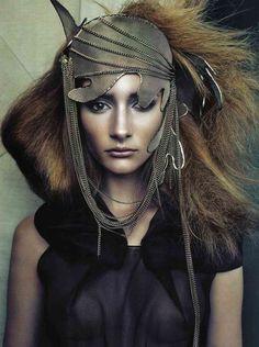 mesh hat, high fashion http://www.yummecosmetics.com