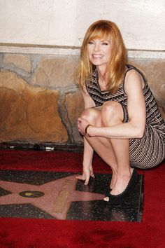 Marg Helgenberger gets a star on The Walk of Fame