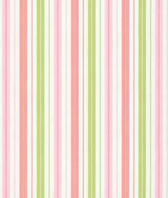 P. Kaufmann Penny Stripe Watermelon Fabric