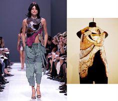 Balenciaga 2002 / Kaisik Wong 1970s