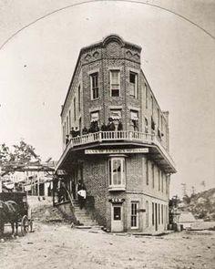 First Flatiron Building, 1880s Eureka Springs, Arkansas