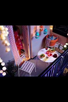 So cute for small balcony
