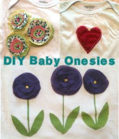 DIY Baby Onesies/Freezer Paper Stencil Tutorial | Faye Dodges Zombies