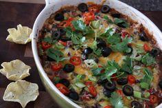 Hot Black Bean Dip gluten free
