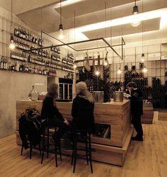 Red Pif Restaurant and Wine Shop by Aulík Fišer Architekti - Dezeen 02