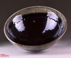 Tenmoku with Nuka Serving Bowl by guerrero.ceramics, via Flickr