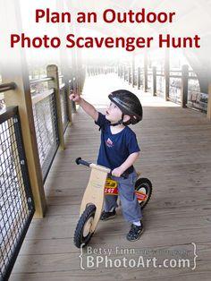 How to Plan an Outdoor Photo Scavenger Hunt for Kids - BPhotoArt.com