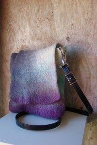 Wool Felt Purse felt purs, felt accessori