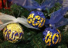ECU Ornaments