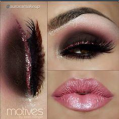 Valentines makeup! Ooh la la!