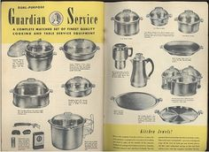 Guardian service cookware booklet