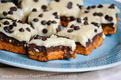 3-Layered Cookie Dough Brownie