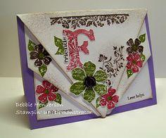 Debbie's Designs: Fancy Card Front Fold