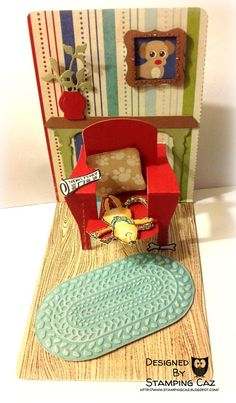 Karen Burniston Pop n Cuts - Chair