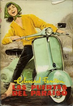 Vintage Italian Posters ~ #illustrator  #Italian #vintage #posters ~ Vespa Marketing circa 1958