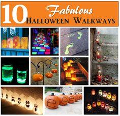 Halloween Walkway ideas