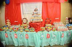 Vintage Circus Birthday party theme !!