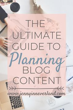 Need help planning your blog content? Here's my ULTIMATE guide on how to plan at least a month's worth of blog content more effectively and efficiently! #bloggingtips #blogtips #bloggingforbeginners #planning