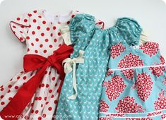 Sewing tutorials, especially for little girl dresses