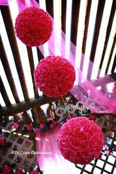 DIY rose balls