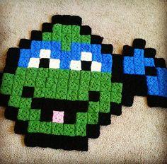 Ninja Turtle Rug