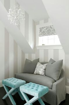 Love this wall painting for a nursery