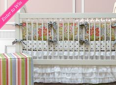 One Project Nursery reader will win a Doodlefish three-piece crib bedding set (pre-designed or custom).