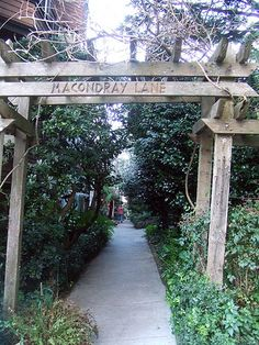 "Macondray Lane was the inspiration for Armistead Maupin's Barbary Lane in ""Tales of the City"""