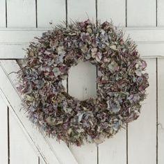 Blue Hydrangea Wreath | Terrain