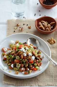 Wheat Berry Salad with Fruity Vinaigrette Serves 8 as a side dish or 4 ...